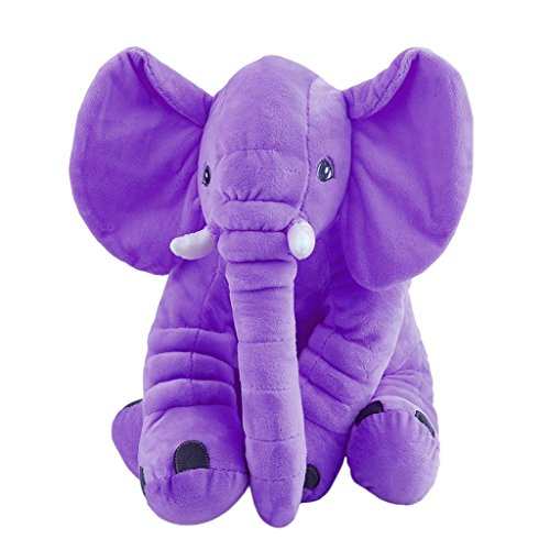 (Redriver Big Soft Baby Elephant Plush Toy - Stuffed Elephant Cushion Doll Toy for Kids - Perfect Gift for Baby Shower, Birthdays, Children, Grand Sons/Daughters)
