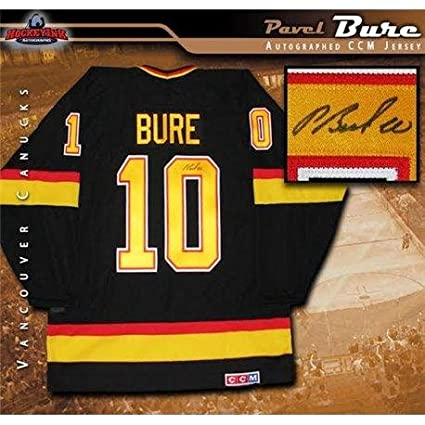 3d1eff0f2 Image Unavailable. Image not available for. Color  Pavel Bure Autographed  Jersey ...