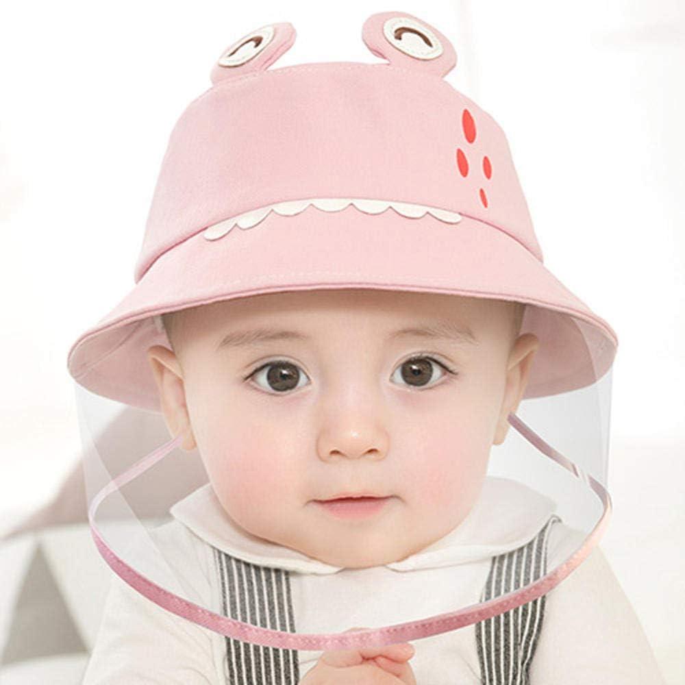 Chapeau de Protection Anti-crachats Couverture de Visage Anti-bu/ée Chapeau de p/êcheur Protection Solaire YWXJY B/éb/é 100/% Coton Chapeau de Protection Anti-salive