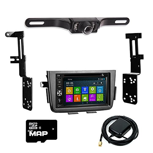 vigation Multimedia Radio and Dash Kit for Acura MDX 2001-2006 with Back up camera and extra ()