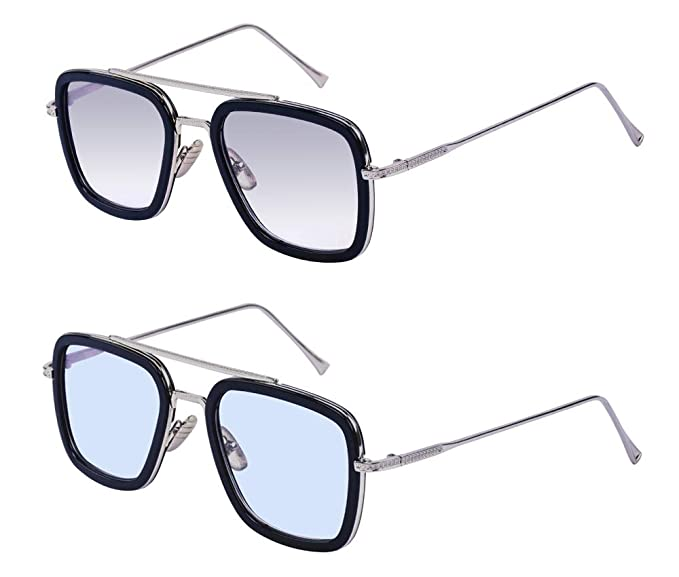 Amazon.com: Outray - Gafas de sol estilo aviador retro ...