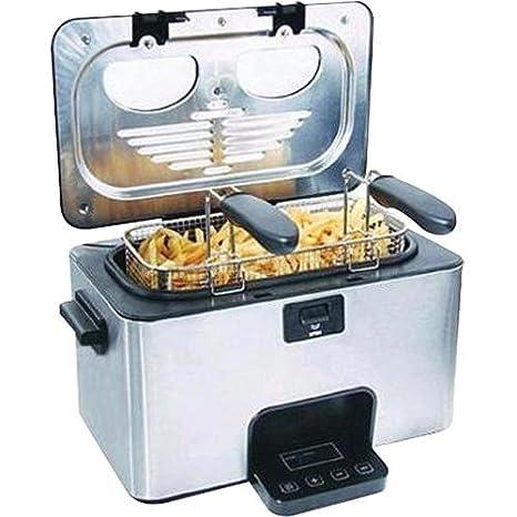 Amazon.com: 3 litro freidora: Kitchen & Dining