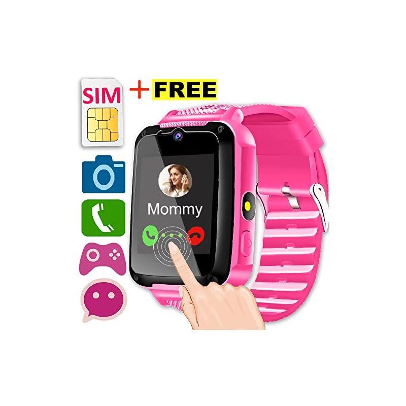 Kids Smart Watch Phone with SIM Card [Sp