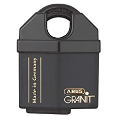 ABUS Granit padlocks meet highest security standards and are considered to be among the most secure padlocks in the world. Their tensile resistance is over 6 tons. High-quality materials and careful finishing are the basis for the quality of ...