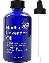 Radha Beauty Lavender Essential Oil Therapeutic Grade - 1 oz.