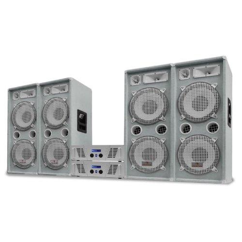 DJ PA Komplettanlage 4000W