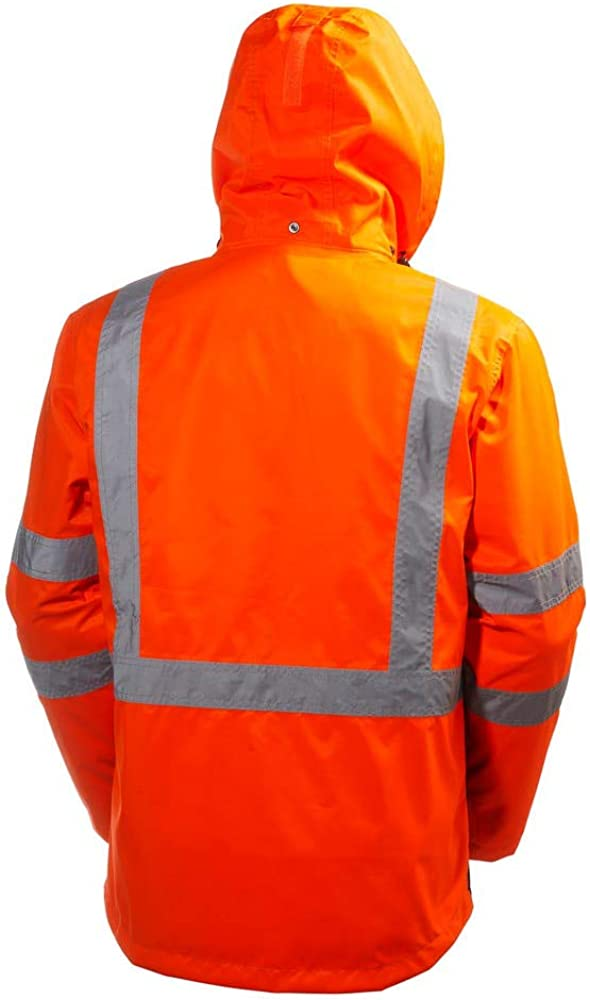 Helly-Hansen Mens Workwear Alta Shell Hi Vis Jacket