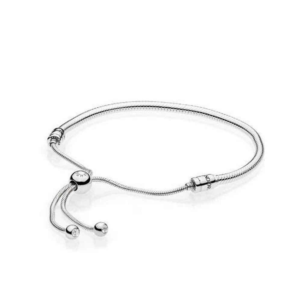 PANDORA Sterling Silver Sliding Bracelet, Clear CZ by PANDORA