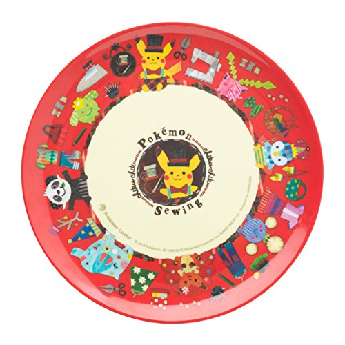 Pokemon Center Original melamine plate pokémon chiku-chiku sewing