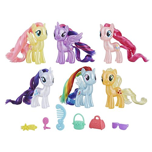 My Little Pony Mane 6 Celebration Set Toy (Little Toys My Pony)