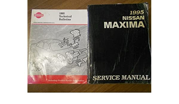 95 1995 Nissan Maxima owners manual Vehicle Parts & Accessories ...