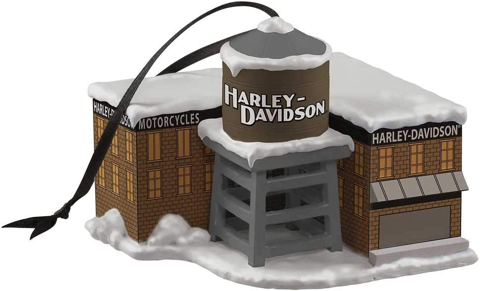 Harley-Davidson Custom Sculpted H-D Factory Polyresin Ornament HDX-99203