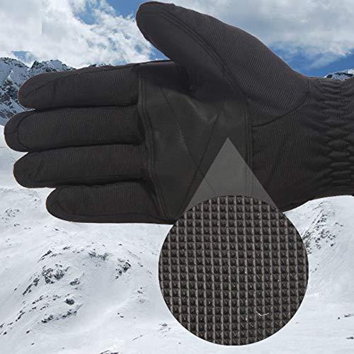Amdxd Équitation De Hiver Plein Femmes Blanc Ski Tactile Moto Voiture Écran Gants Air rTgrHx0