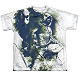 Green Arrow Spray Paint Oliver Queen Big Boys Youth Front Print T-Shirt Tee