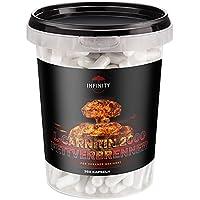 L-Carnitin 2000 Fettverbrenner, 350 Kapseln, für Veganer geeignet, Hochdosiert - 2000mg / Tagesdosis, frei von Zusatzstoffen, beste Diät/Fettverbrennung
