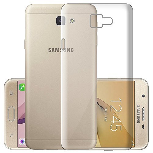 Marely Hudson Transparent Soft Back Case Cover For Samsung Galaxy On7 Prime