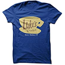 I Love Apparel Luke's Diner - Stars Hollow, CT - Funny T-Shirt - Made on Demand in USA