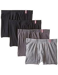 Hanes Men's 4 Pack Short Leg Boxer Briefs