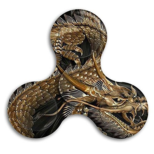 Dragon Age Origins Costumes Jewelry (Chinese Dragon Bearing Toy Spin Gyro 360 Fidget Spinner)