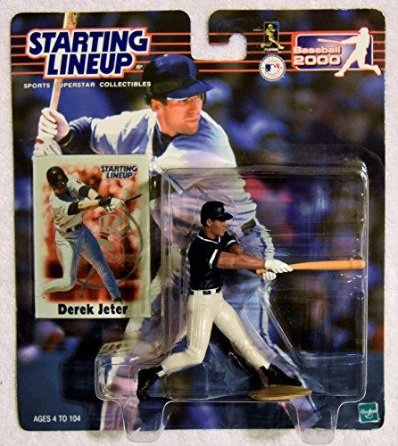 - Hasbro 2000 Starting Lineup DEREK JETER 2000 Baseball SLU