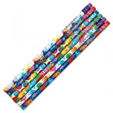 Personalized Monster Pencils - Set of 12, Engraved Name, Hardwood #2 School Pencils, Kid's Gift