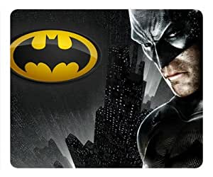 Batman with Batman Logo rectangle Mouse Pad by eeMuse by ruishername
