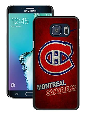 separation shoes e3131 35d1b Hot Sale Montreal Canadiens 01 Black Samsung Galaxy Note 5 Edge ...
