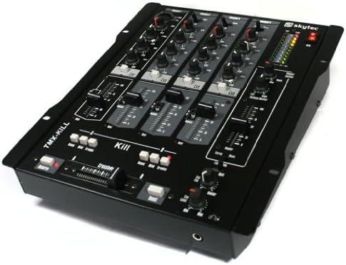 Mesa de Mezclas estéreo DJ Skytec de 4 Canales. Color Negro ...
