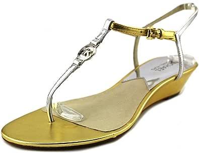 Michael Kors Nora Wedge - Zapatos de vestir para mujer Dorado dorado 37