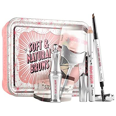 Benefit Cosmetics Soft & Natural Brow Kit Color 03 Medium - light to medium brown, redheads (neutral-warm)