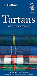 Collins Tartans Map of Scotland
