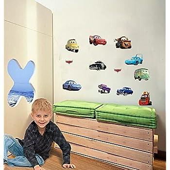 Wall Decal Sticker Cars Walt Disney Pixar Kids Bedroom And Kindergarten  Mural Home Decor DIY Plastic Part 81