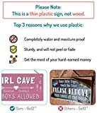Girl Cave Sign, Girls Room Decorations for