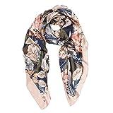 Scarf for Women: Lightweight Silk Feel Spring Winter Oblong Fashion Scarves Shawl by Melifluos (FP12-15)