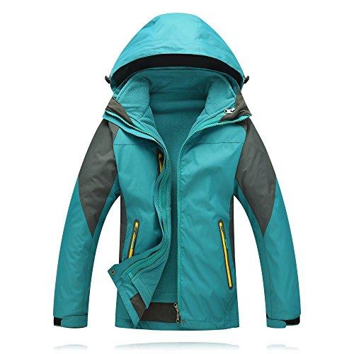 Jacket Windbreaker & USB Detachable Liner for Hiking, No Battery (Detachable Jacket Liner)
