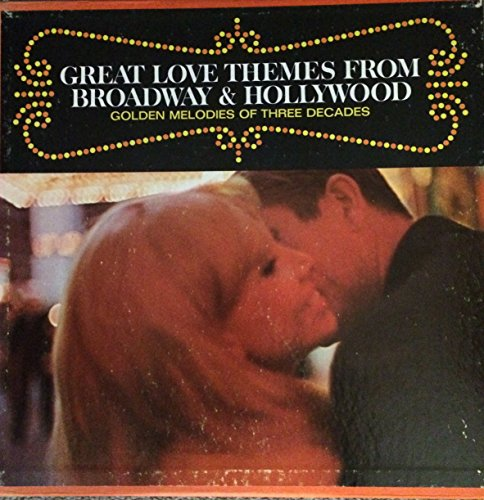 Mantovani: Great Love Themes From Broadway & Hollywood, Golden Melodies of Three Decades (4 records box -