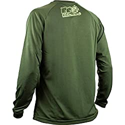 Planet Eclipse T-Shirt - Brawler Long Sleeve - Olive
