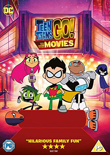 Teen Titans Go! To The Movies [DVD] [2018] (Teen Dvd Movies)