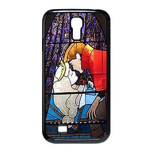 Unique Design -ZE-MIN PHONE CASE For SamSung Galaxy S4 Case -Sleeping Beauty-Maleficient Pattern 3