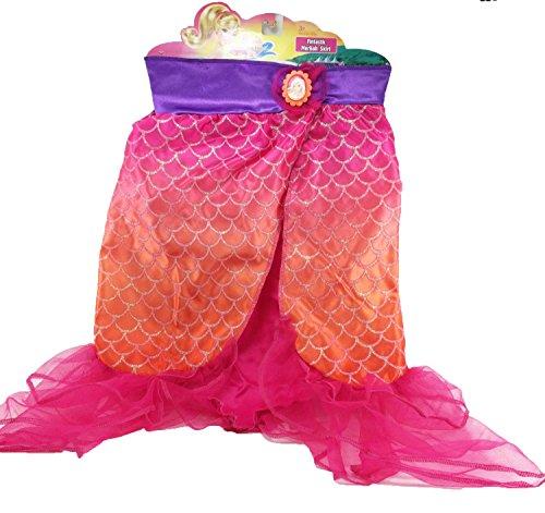 [Barbie Fintastic Mermaid Skirt] (Barbie Halloween Costumes For Kids)
