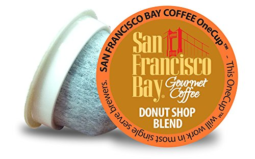 San Francisco Bay OneCup, Donut Shop, 36 Count- Single Serve Coffee, Compatible with Keurig K-cup Brewers (Trade Roast Fair Classic)