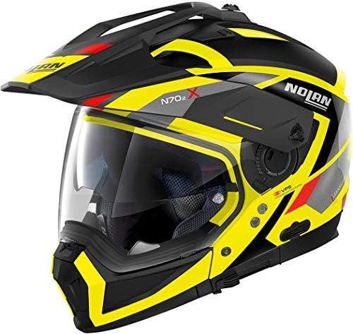 Nolan Herren N70 2 X Grandes Alpes Led Yellow L Helmet Gelb L Auto