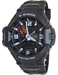 G-Shock GA-1000-1A Aviation Series Mens Luxury Watch - Black / One Size