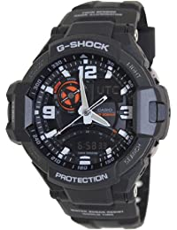 G-Shock GA-1000-1A Aviation Series Mens Luxury Watch - Black /