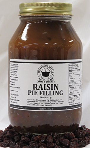 Raisin Pie Filling, 36 oz