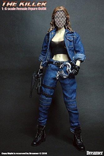 Artcreator_BM 1/6 Female costume (the killer) Dreamer hit-woman costume