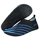 SENFI Lightweight Quick-Dry Water Shoes for Water Sport Beach Pool Surf,NS01,s.Blue,44.45