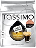 "TASSIMO Lot de 5 Sachets 16 doses de café Carte Noire ""Voluptuoso"""