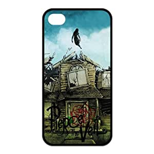 LeonardCustom- PTV Pierce the Veil Protective TPU Rubber Silicon Fitted Cover Case for iPhone 4 / 4S -LCI4U476