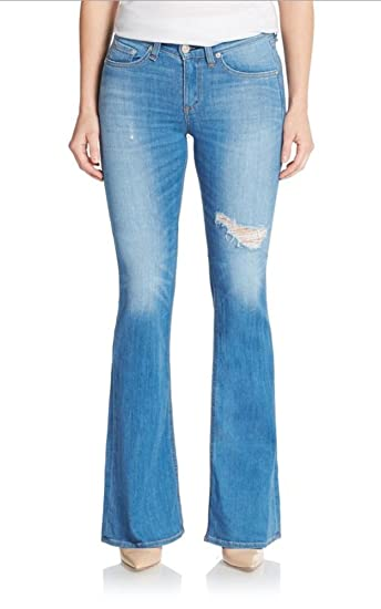 c493acd3c56742 rag & bone Jean, High Rise Bell Women's Jeans, Kilbowie at Amazon ...